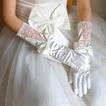 Poroka Rokavice soba Jesenska Glamour Lace Fabric Bow Tie