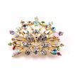 Phoenix Top razred Gorgeous Alu Intarzijski diamantna broška