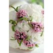 simulacija cvetlični šopek nevesta družico poročni roko šopek