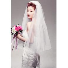 Poroka Veil Večstopenjski Glamour Spring
