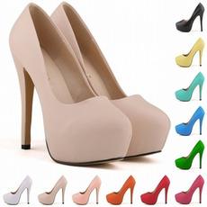 Vodoodporne poročne čevlje 14 cm visoke pete modnega stila