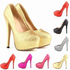 Peneče poročne modne poročne čevlje stiletto pete