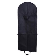 Črna koprena in obleka veliko prahu pokrov vrečka kapica zložljiva poročno obleko