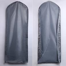 protiprašni pokrov 155 cm debelo srebrno pregleden poročna prah komplet obleko