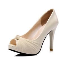 Seksi sandali na visoki peti modni ribiški čevlji za bankete