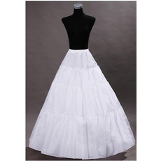 Poroka Petticoat Poročna obleka Zunanjem brez okvirja Standardna Elastičen pas