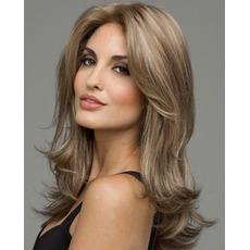 Perruque Poševna Šiška Primerno za ženske Long Curly Long Curly