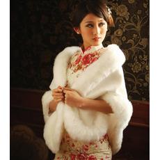Eleganten zima bela Debele Crystal Flower broška pravokotnik Poroka šal