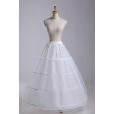 Poroka Petticoat Razširi dva svežnjev Eleganten Dolga štiri platišča Nastavljiv