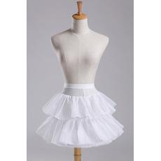 Poroka Petticoat Modna Premer Elastičen pas Kratka obleka