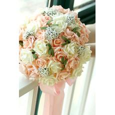 30 cvet kup neveste holdinga penine rose simulacijo cvet družico poroko