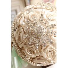Diamond poročni biser poročna postavitev dekoracijo ideje, ki imajo cvetje