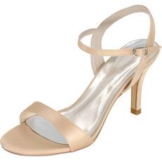 Poročne sandale modne čevlje z visokimi petami Stiletto