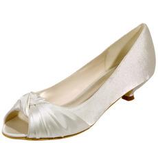 Poročni čevlji ribje usta poročni čevlji satenasti čevlji