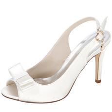 Poletne satenske visoke pete plemenite elegantne banketne visoke pete Poroka maturantski ženski čevlji