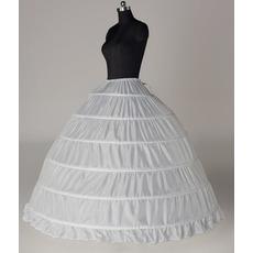 Poroka Baba Šest platišča Razširi String Širina poln obleko Nastavljiv