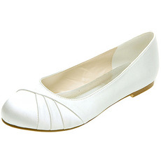 Pleteni satenski ženski čevlji banket letni poročni čevlji