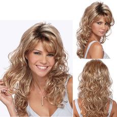 Perruque Poševna Šiška Visoka temperatura materiala 45-50 cm Curly