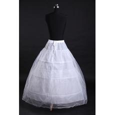 Poroka Petticoat Tri platišča Močno Net Modna perimeter standard