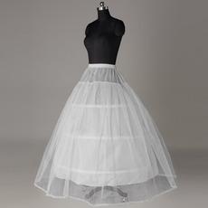Poroka Petticoat Močan Čisti Poročna obleka Lace obrezovanje standard