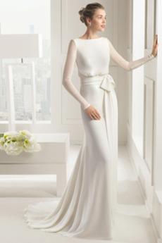 Tesen Zadrgo navzgor Preprosta Lok Naravni pasu Poročne obleko