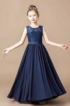 Elegantno Prekrivni čipke Pomlad Zadrgo navzgor Majhna punčka obleko