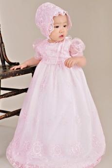 Dragulj Princesa Srednje SKP/klobuk Formalno Dolžina tal Otroka obleko