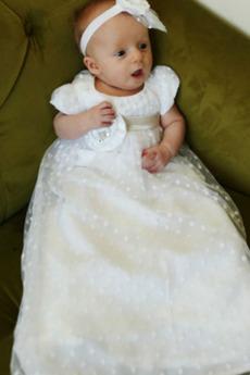 Visoko zajeti Princesa Poudarjen lok Garland Petite Krst Obleko