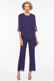 Dragulj Naravni pasu Hlače obleka bluza Preprosta Mati obleko