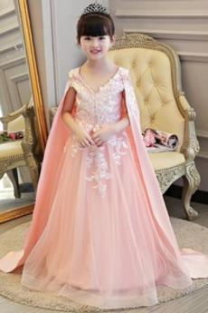 Srednje Naravni pasu Izvedba Dolg A Vrstica Cvet dekle obleko