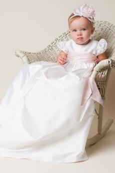 Dolg Luč Dragulj Poudarjen lok Formalno Princesa Otroške obleko