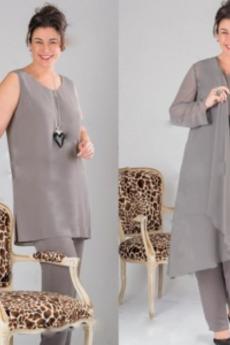Naravni pasu Priložnostne Gleženj dolžina Mati obleko s hlačami