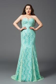 Morska deklica Zadrgo navzgor Elegantno Naravni pasu Večerne obleko