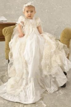 Naravni pasu Visoko zajeti Dolg Formalno Princesa Krst Obleko
