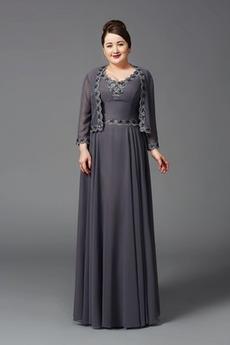 Formalno T-majica Poletje velika velikost Visoko zajeti Mati obleko