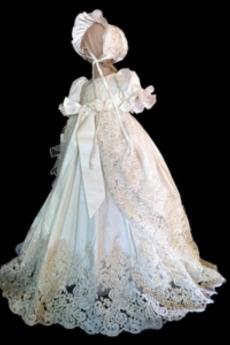 Dragulj Poudarjen lok Visoko zajeti Prekrivni čipke Krst Obleko