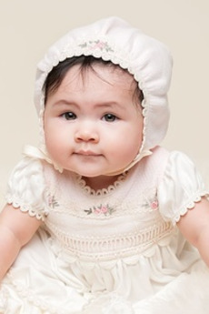 Imperij pasu Princesa Dolžina tal Kratkimi rokavi Krst Obleko
